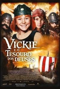 Poster do filme Vickie e o Tesouro dos Deuses / Wickie auf Großer Fahrt (2011)