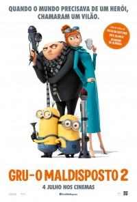 Poster do filme Gru o Maldisposto 2 / Despicable Me 2 (2013)