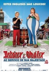 Poster do filme Astérix e Obélix - Ao Serviço de Sua Majestade / Astérix et Obélix: Au Service de Sa Majesté (2012)