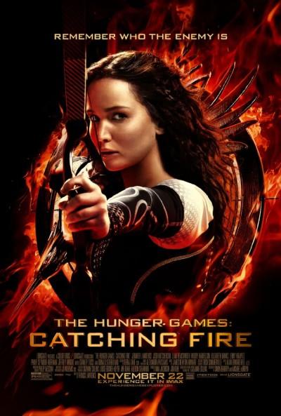 """Novo poster para """"Os Jogos da Fome: Em Chamas"""" (The Hunger Games: Catching Fire)"""