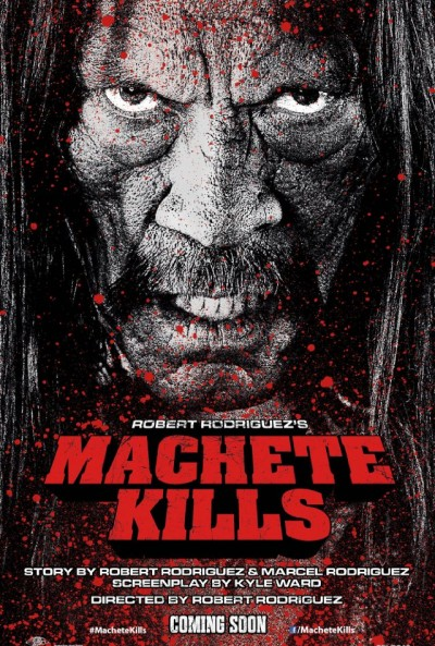 "Nova data de estreia: ""Machete Kills"""