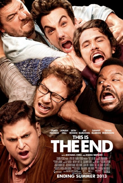 """Novo poster para """"This Is the End"""""""