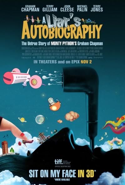 Poster A Liar's Autobiography - The Untrue Story of Monty Python's Graham Chapman (2012)