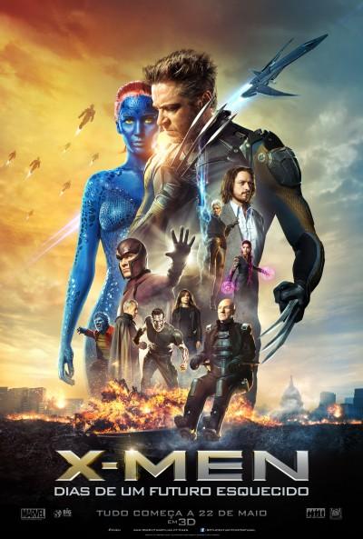 """Novo poster português para """"X-Men: Dias de Um Futuro Esquecido"""" (X-Men: Days of Future Past)"""