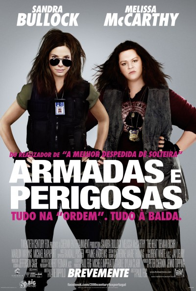 Poster Armadas e Perigosas / The Heat (2013)