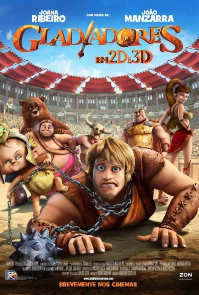 """Novo poster português para """"Gladiadores"""" (Gladiatori di Roma)"""