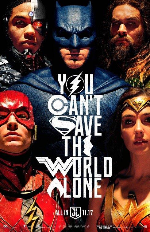 Poster Liga da Justiça / Justice League (2017)