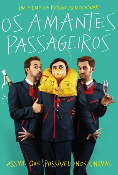Poster Os Amantes Passageiros / Los Amantes Pasajeros (2013)