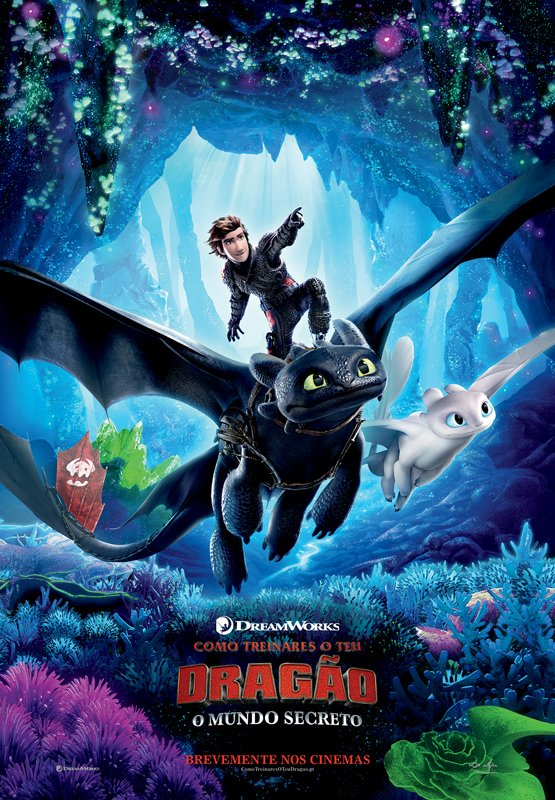 Cinema in Lagos - Como Treinares o Teu Dragão: O Mundo Secreto / How to Train Your Dragon: The Hidden World