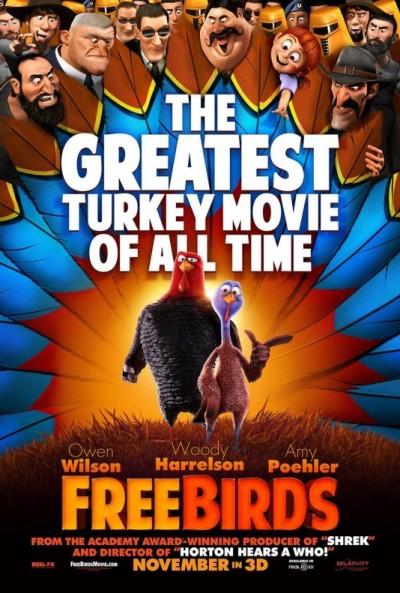 "Novo poster para ""Free Birds"""