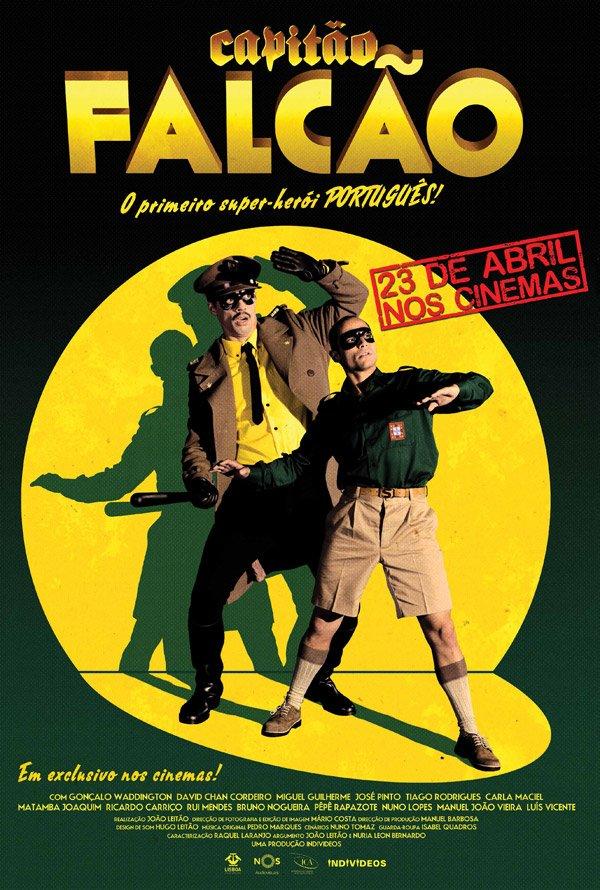 Poster Capitão Falcão (2014)