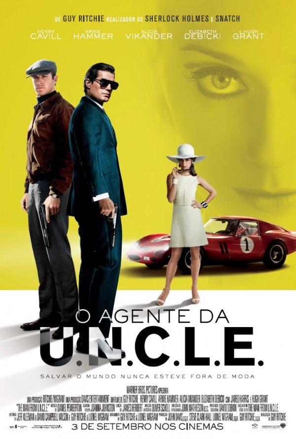 """Novo poster português para """"O Agente da U.N.C.L.E."""" (The Man from U.N.C.L.E.)"""