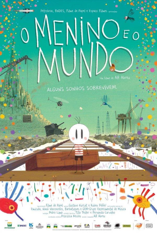 """Novo poster português para """"O Menino e o Mundo"""""""