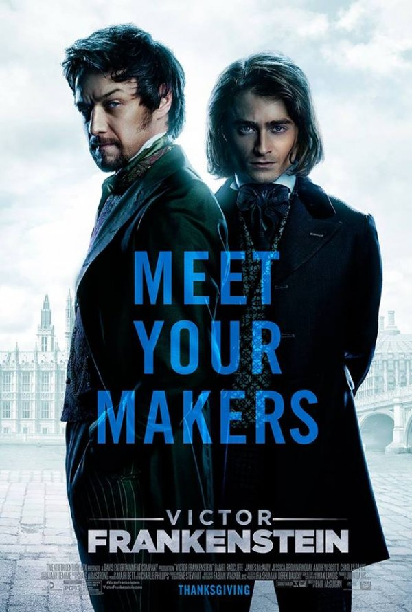 Poster Victor Frankenstein (2015)