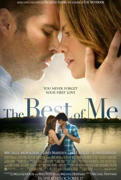"""Novo poster para """"Dei-te o Melhor de Mim"""" (The Best of Me)"""