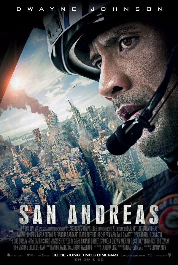 """Novo poster português para """"San Andreas"""""""