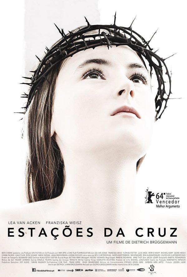 """Novo poster português para """"Estações da Cruz"""" (Kreuzweg)"""