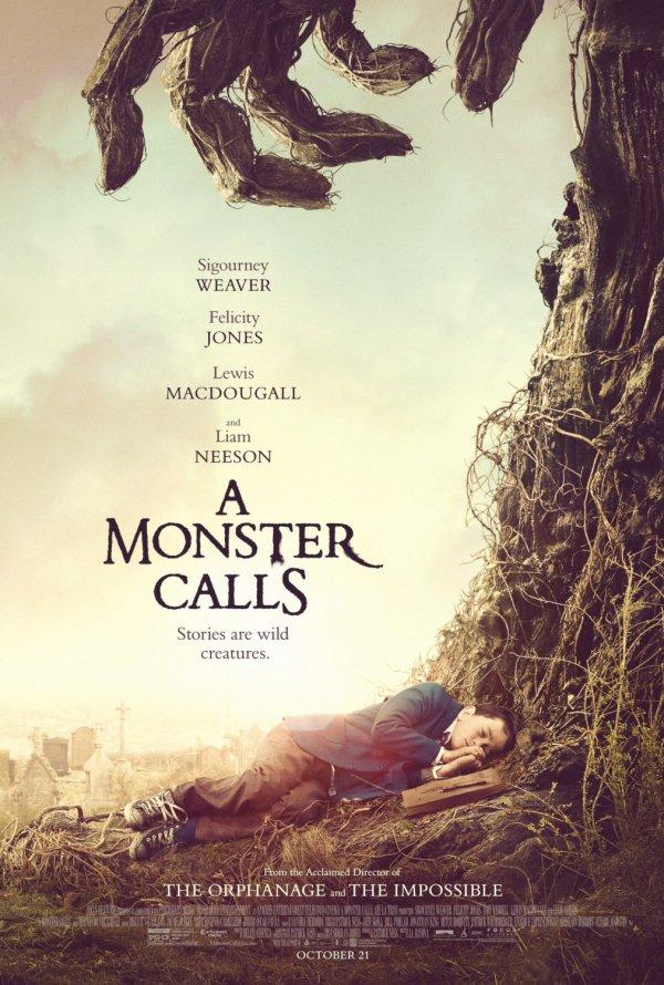 "Novo poster para ""A Monster Calls"""