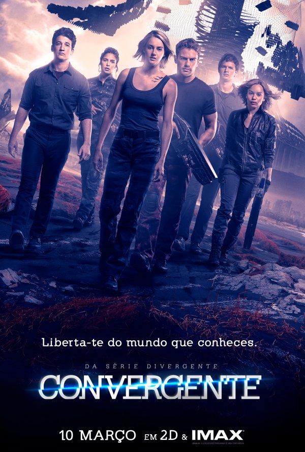 Poster Convergente / The Divergent Series: Allegiant (2016)