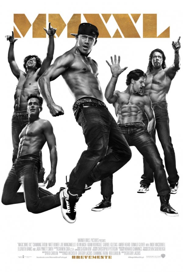 "Novo poster português para ""Magic Mike XXL"""