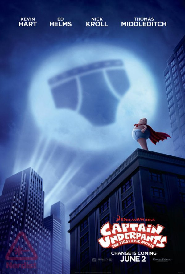 Poster Captain Underpants: The First Epic Movie (2017)