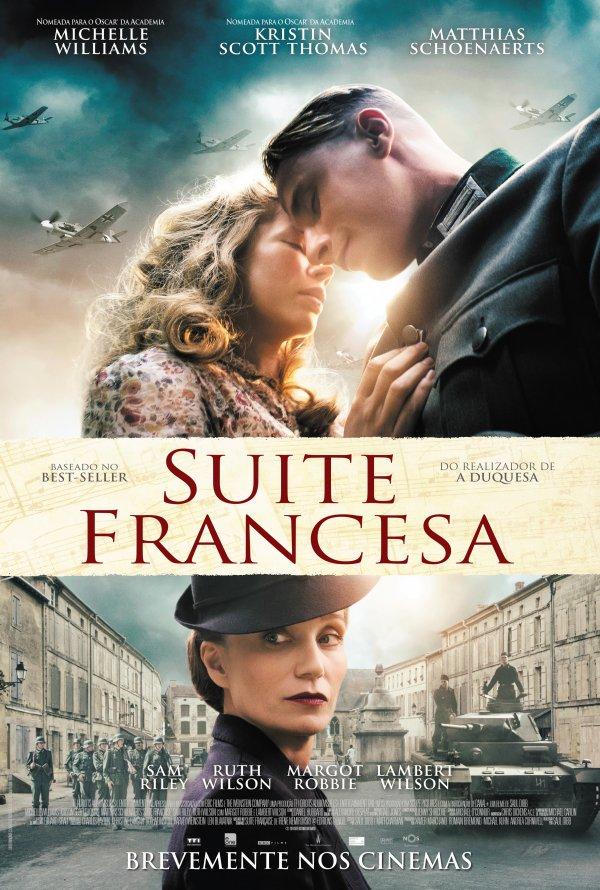 """Novo poster português para """"Suite Francesa"""" (Suite Française)"""