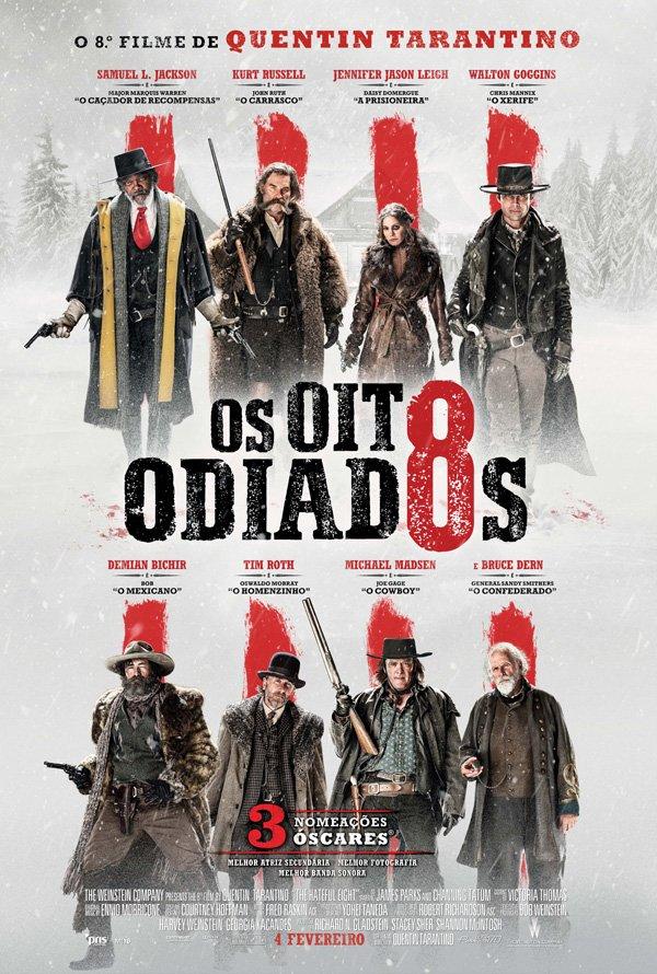 Poster Os Oito Odiados / The Hateful Eight (2015)