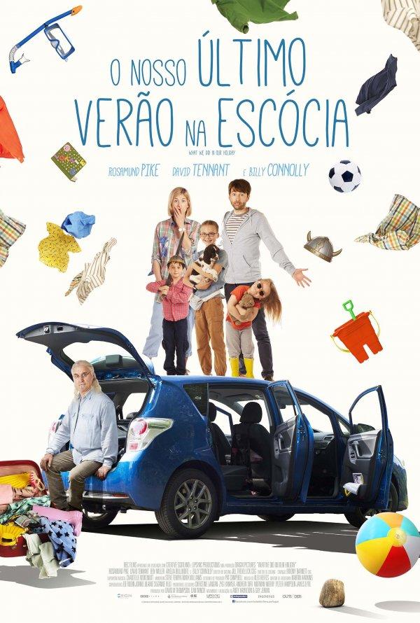 """Novo poster português para """"O Nosso Último Verão na Escócia"""" (What We Did on Our Holiday)"""