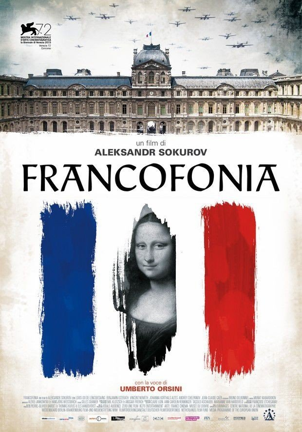 "Novo poster para ""Francofonia"""