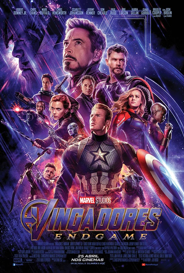 Cinema in Lagos - Vingadores: Endgame / Avengers: Endgame