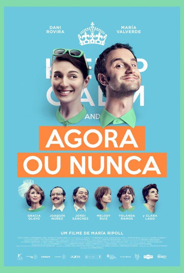 """Novo poster português para """"Agora ou Nunca"""" (Ahora o nunca)"""