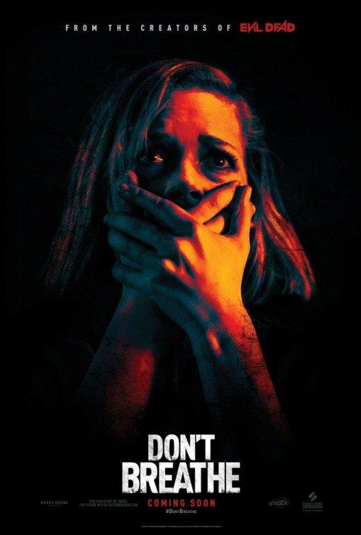 """Novo poster para """"Nem Respires"""" (Don't Breathe)"""