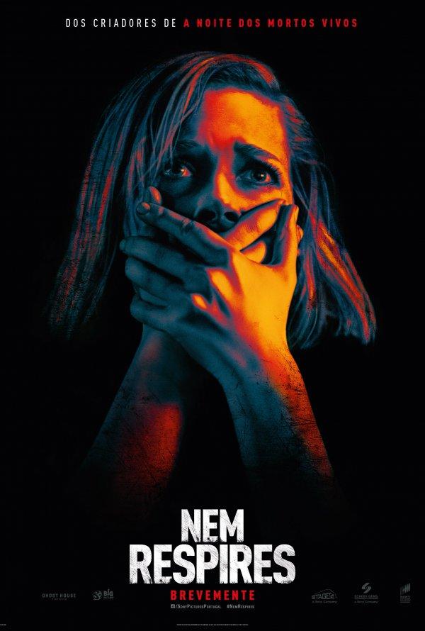 """Novo poster português para """"Nem Respires"""" (Don't Breathe)"""