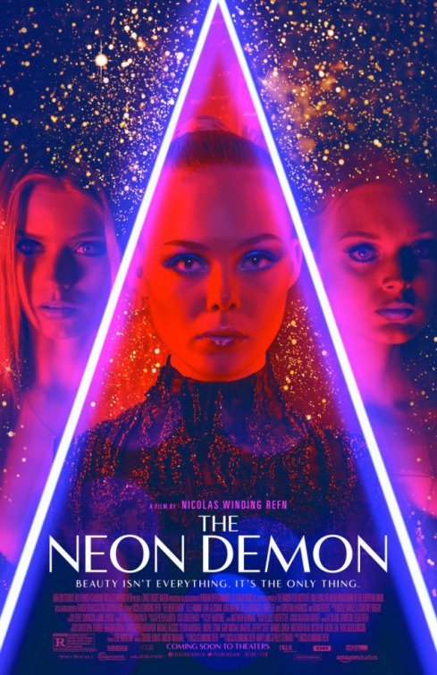 "Novo poster para ""The Neon Demon"""