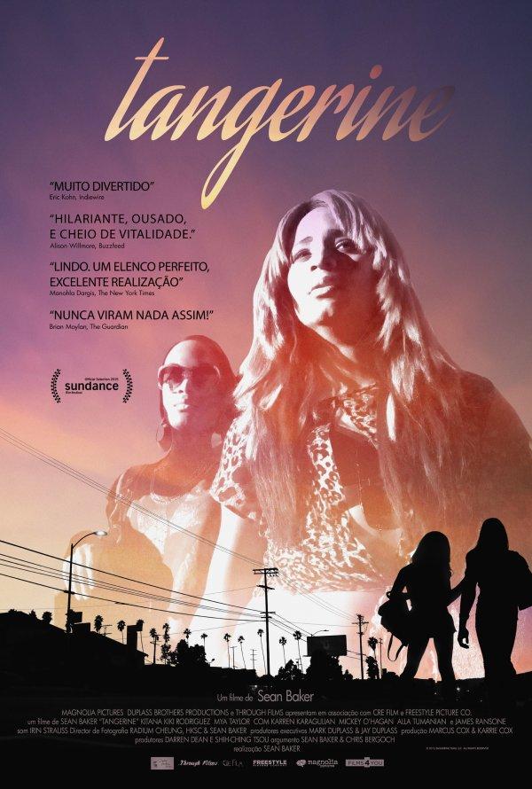 """Novo poster português para """"Tangerine"""""""
