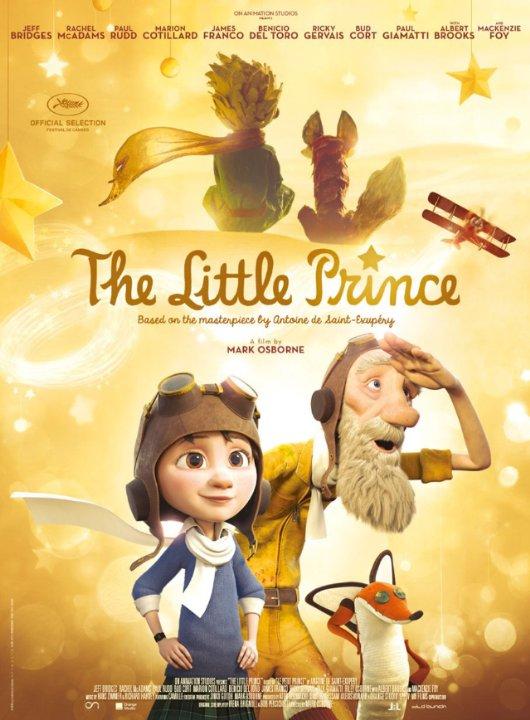 """Novo poster para """"O Principezinho"""" (The Little Prince)"""