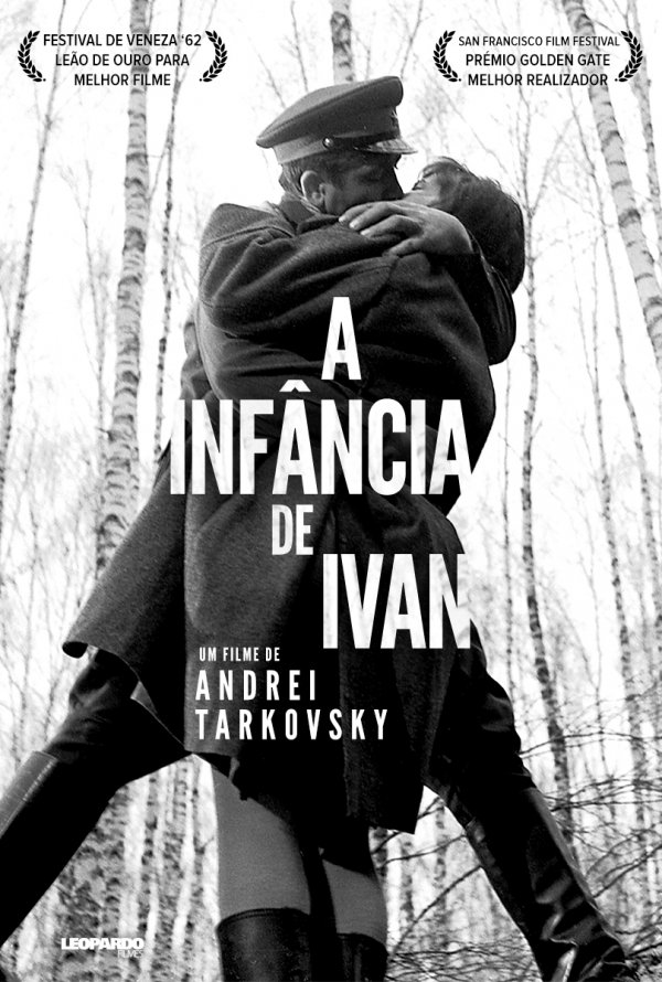 """Novo poster português para """"A Infância de Ivan (Ciclo Andrei Tarkovsky)""""  (Ivanovo Detstvo) - filmSPOT"""