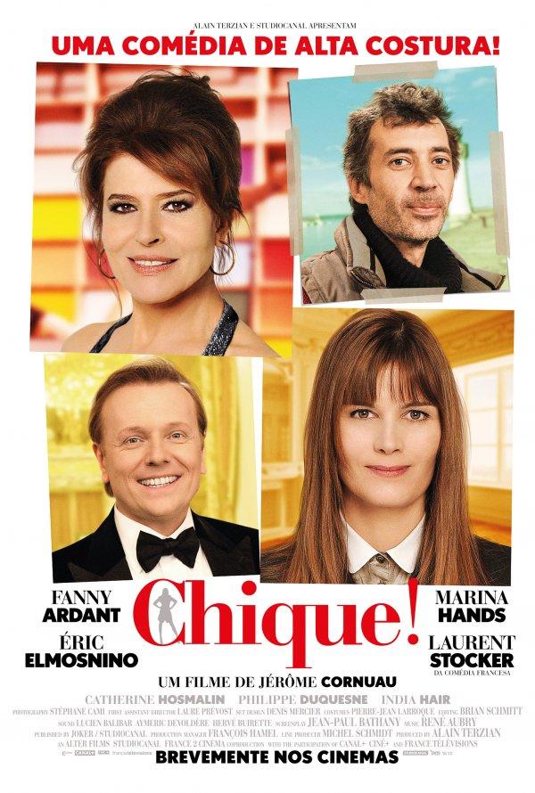 """Novo poster português para """"Chique!"""" (Chic!)"""