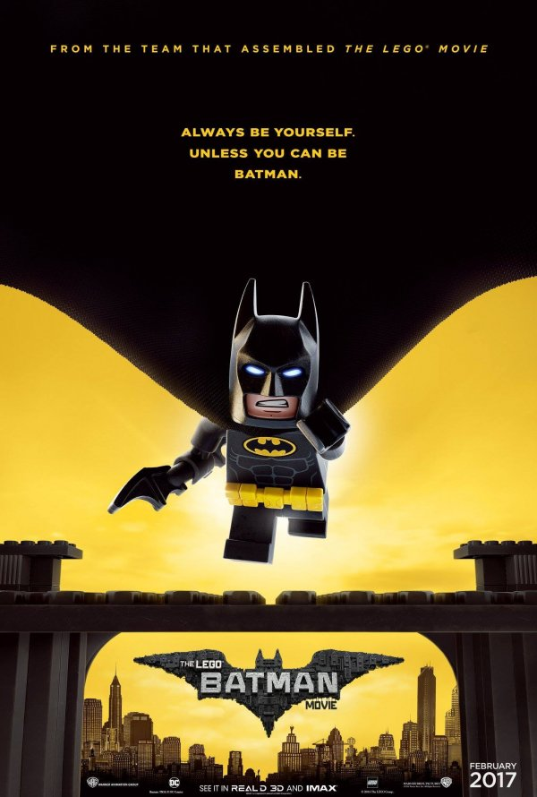 "Posters Comic Con 2016 4/10: Poster ""Lego Batman: O Filme"" / ""The Lego Batman Movie"" (2017)"