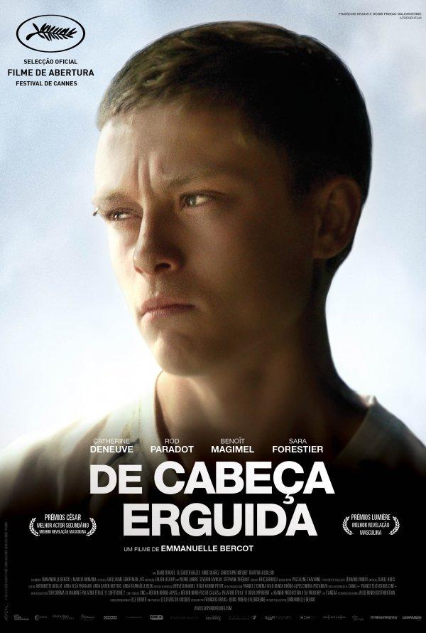 """Novo poster português para """"De Cabeça Erguida"""" (La Tête Haute)"""