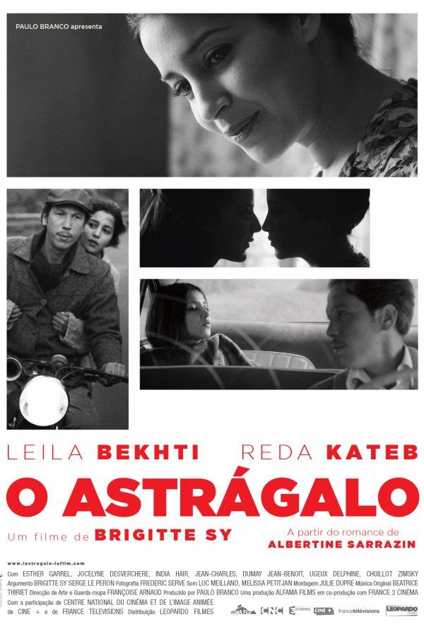 """Novo poster português para """"O Astrágalo"""" (L'astragale)"""