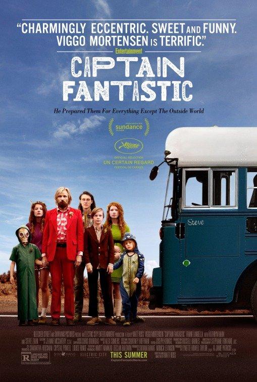 "Novo poster para ""Captain Fantastic"""