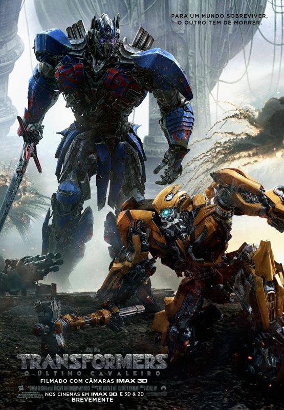 Poster Transformers: O Último Cavaleiro / Transformers: The Last Knight (2017)