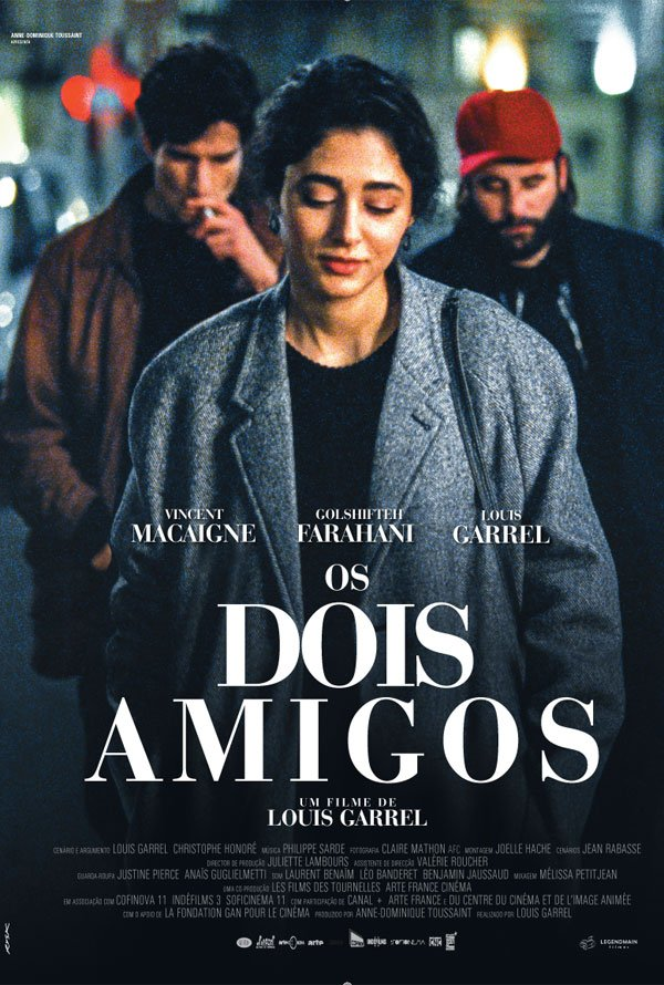 """Novo poster português para """"Os Dois Amigos"""" (Les deux amis)"""