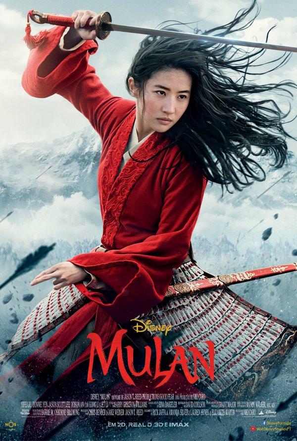 Poster Mulan (2020)