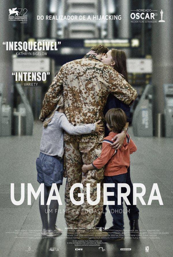 """Novo poster português para """"Uma Guerra"""" (Krigen)"""