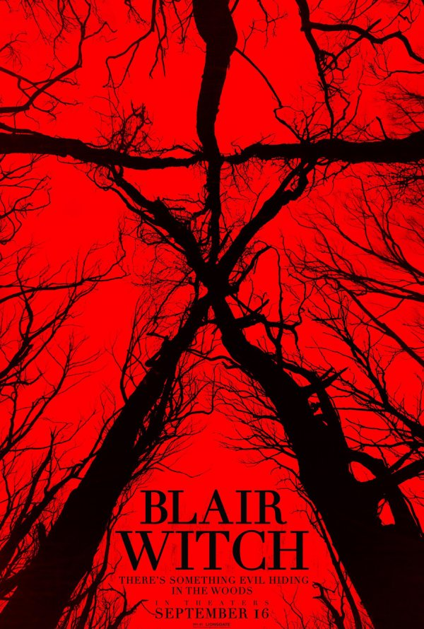 "Posters Comic Con 2016 6/10: Poster ""Blair Witch"" antes conhecido como ""The Woods"" (2016)"