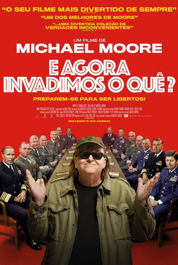 """Novo poster português para """"E Agora Invadimos o Quê?"""" (Where to Invade Next)"""