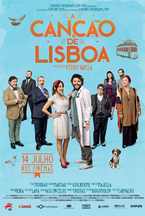 """Novo poster português para """"A Canção de Lisboa"""""""