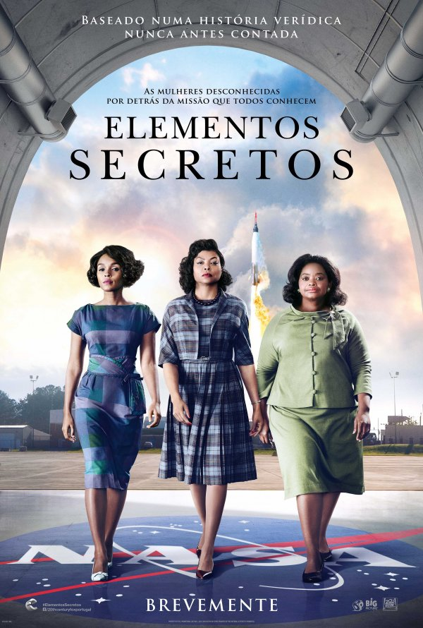 Image result for cinema elementos secretos hidden figures